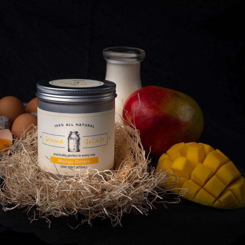 Fresh Mango Gelato