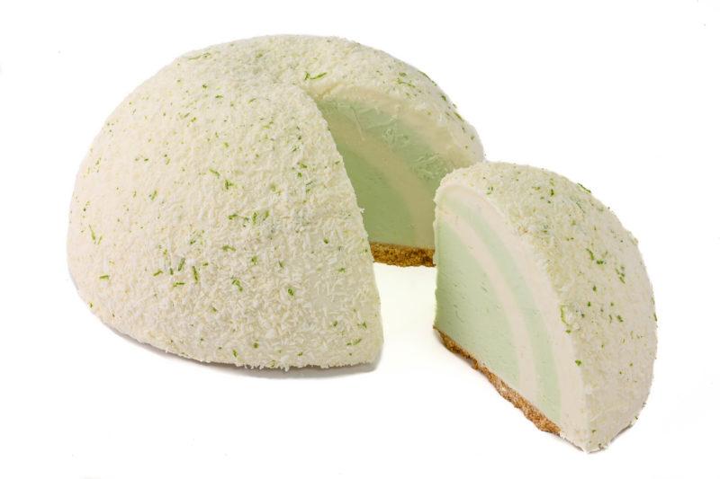 Lime Gelato Cake